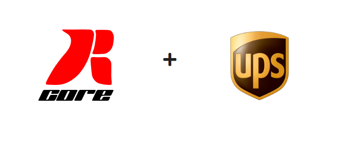 RCore & UPS partnership