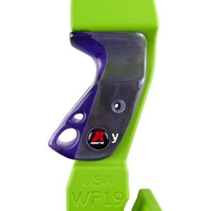 RCore - Purple Glass grip - side view